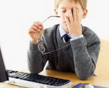 Как компьютер влияет на зрение
