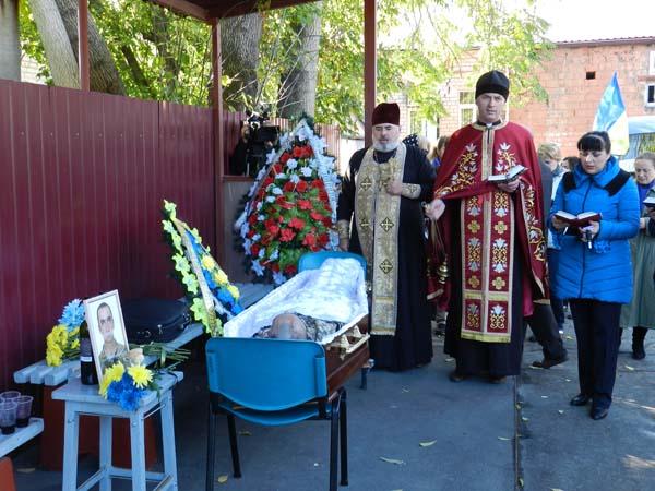 В больнице Мечникова попрощались с бойцом Давидом Гамсахурдиа