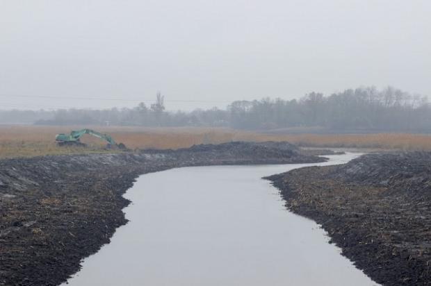 После расчистки река Заплавка снова станет полноводной