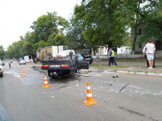 В Днепродзержинске произошло серьезное ДТП