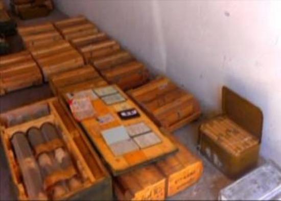 В Павлограде нашли склад боеприпасов