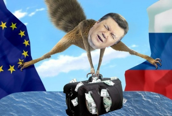 Януковичу и его коррупционерам разрешен въезд в ЕС