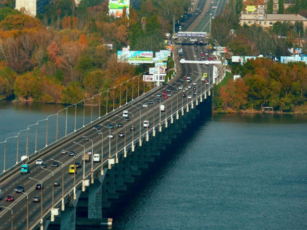 Еврейский журналист предложил именем Бандеры увековечить Центральный мост Днепра