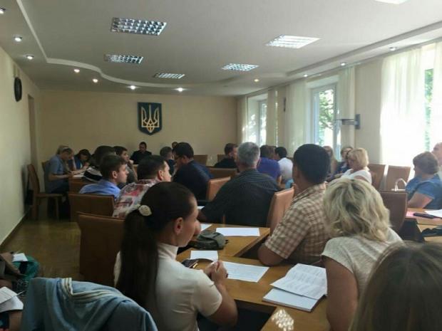 В Соборном райсовете появилась группа «За Днепропетровск»
