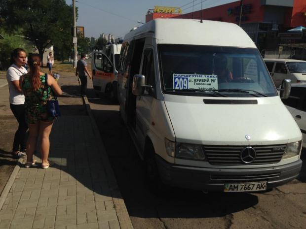 Водитель маршрутного такси спас жизнь девушке