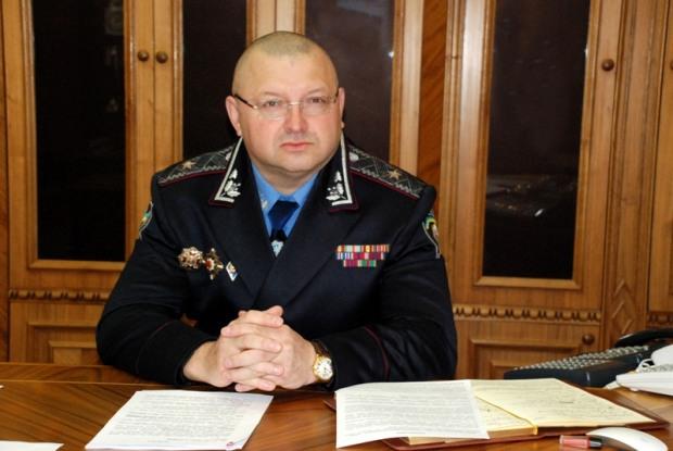 Генерал-майор полиции принимает в Желтых Водах