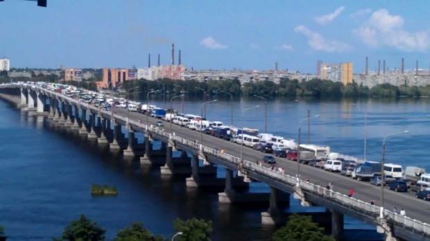 Новый мост в Днепре после реконструкции будет с отбойниками