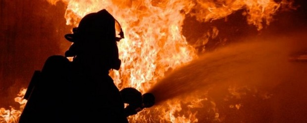 В Днепре в результате пожара женщина попала в больницу
