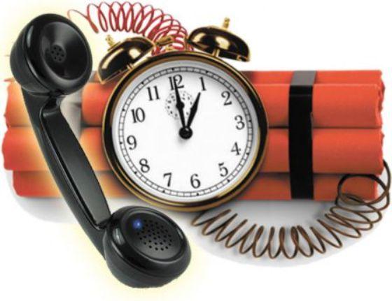 С новым годом началась новая волна телефонных «минирований»