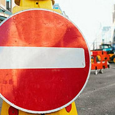 В Днепропетровске временно перекроют четыре улицы