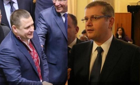 Парламентская дуэль Вилкула и Филатова