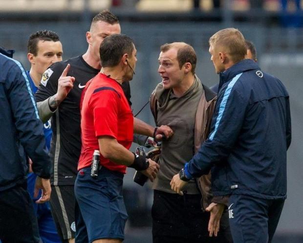 Подробности послематчевой драки с участием футболистов «Днепра»