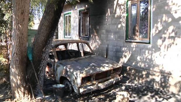 Нетрезвый днепровец взорвал собственную машину