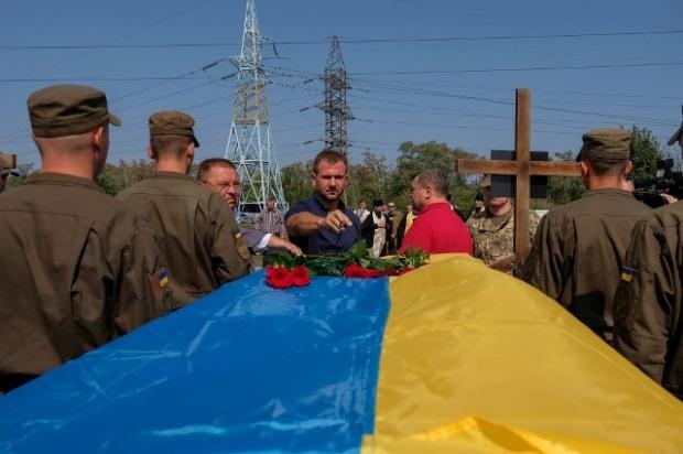 В Днепре почтили память трех погибших бойцов АТО