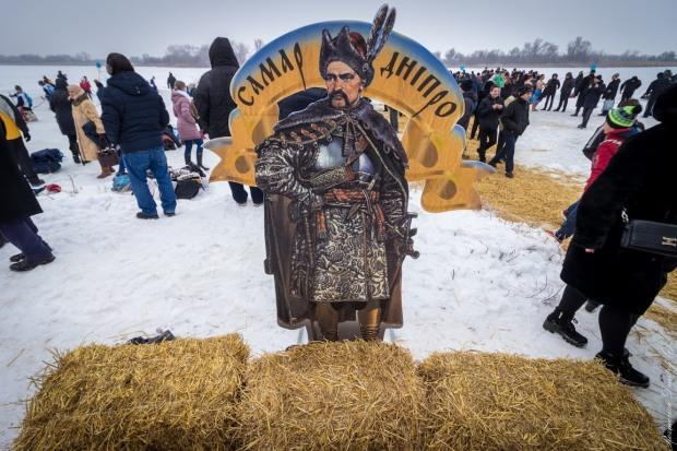 Днепровцев приглашают в день Крещения на Старую Самарь