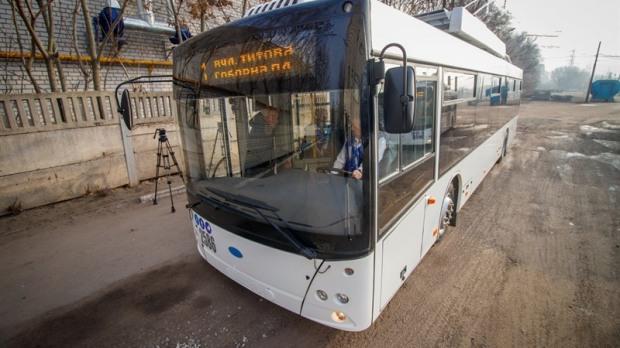 На дорогах Днепра будут курсировать энергосберегающие троллейбусы