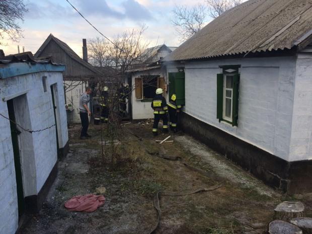 В Днепре на месте пожара выявили тело женщины