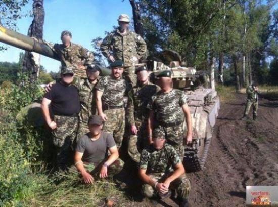 Под Днепропетровском базируется чеченский батальон