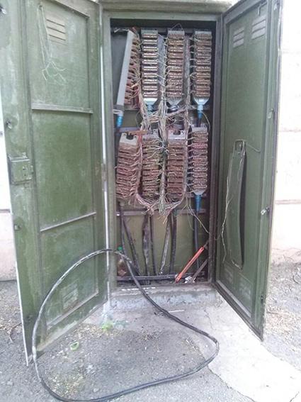 В Каменском задержали вора кабеля