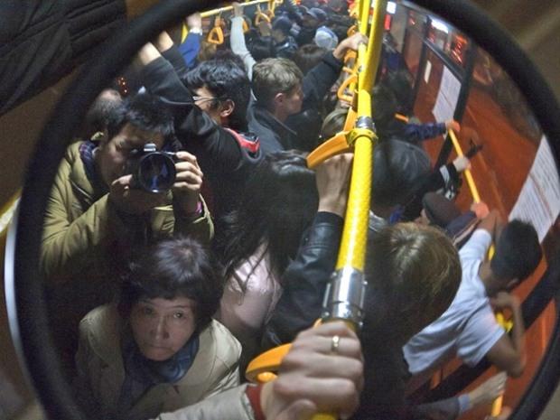 В Днепре хотят запретить возить пассажиров стоя