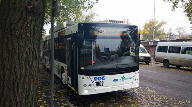Троллейбус от Днепра до Подгородного может покрыть автобусные маршруты