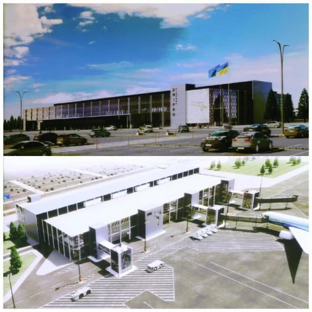 Голова облради звернувся із завданням до інвесторів аеропорту «Дніпро»