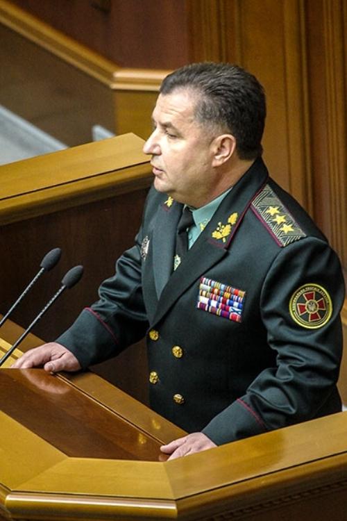 Новый министр обороны пообещал мир