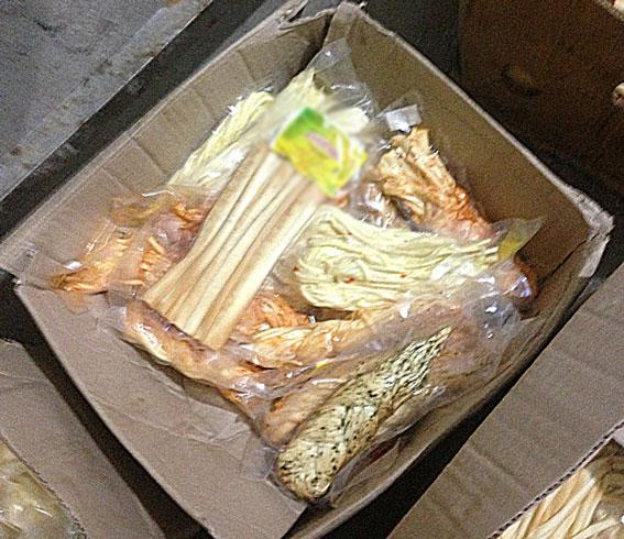 Жителей Днепропетровщины закармливали подпольным сыром