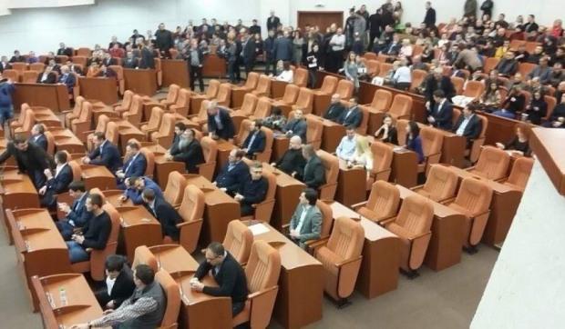 Заседание сессии Днепровского горсовета перенесли на неделю из-за переговоров в Турции
