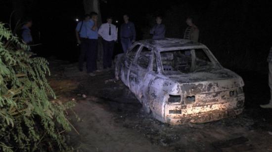 После смертельного ДТП водитель сжег свою машину