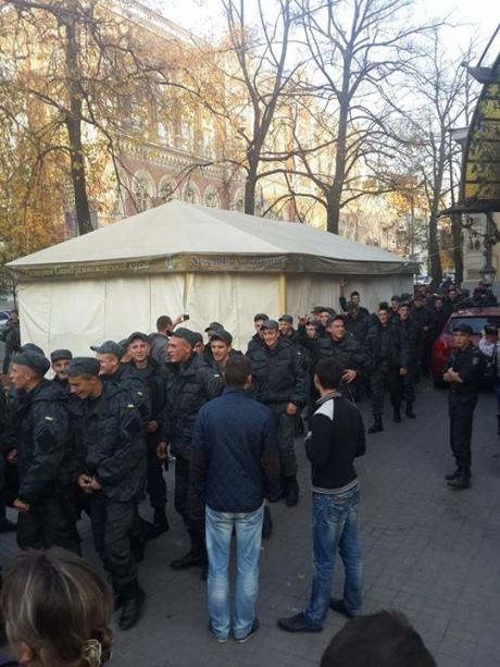 В СБУ заявили, что бунтом срочников под АП управляло ФСБ