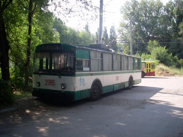 Завтра в Днепре два троллейбусных маршрута приостановят свою работу
