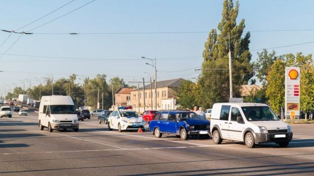 На Слобожанском проспекте в Днепре ДТП