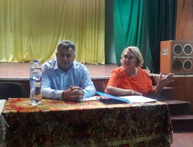 Триває  робочий візит  народного депутата України Олександри Кужель на Дніпропетровщину