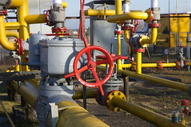 Объемы распределения газа по сети «Днепропетровскгаза» уменьшились почти на 18%