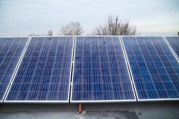В опорной школе появилась солнечная электростанция