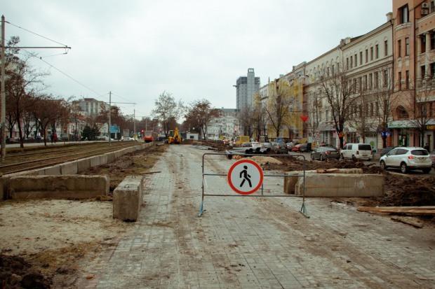 Кто разрушает бульвар в центре Днепра
