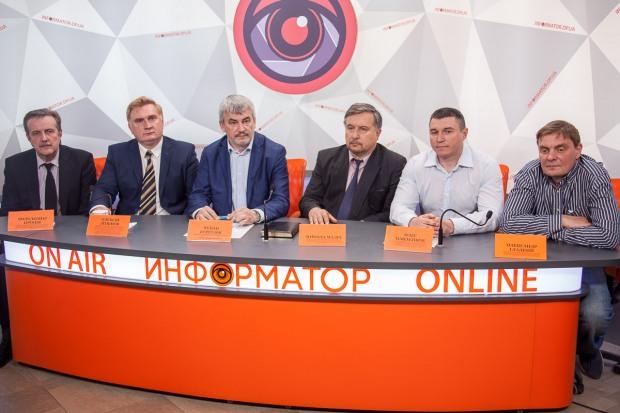 «Громадянська позиція» Анатолия Гриценка презентовала команду развития Днепра