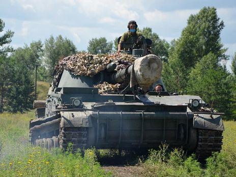 Бойовики вісім разів обстрілювали українські позиції