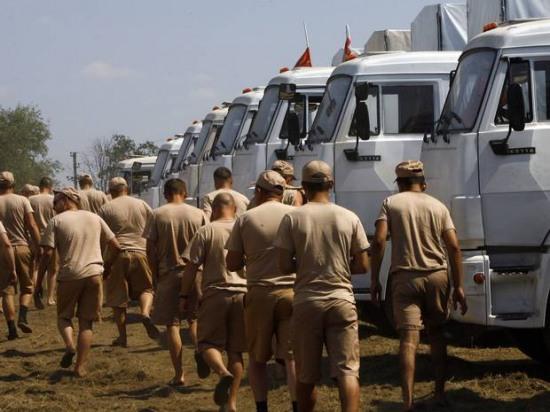 Кризис на Украине: российский конвой у границы, дело идет к потенциально взрывоопасной развязке