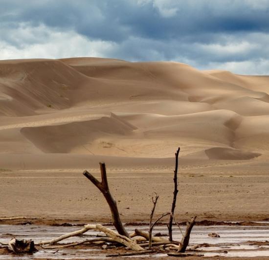 В Орловщине «украли» более 20 тысяч кубометров песка