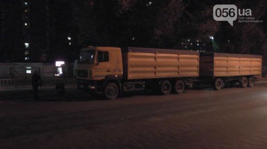 ДТП на Донецком шоссе: фура насмерть сбила пешехода
