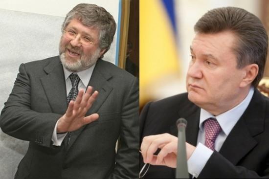 В Интернет «вбросили» видео: как Коломойский поздравлял Януковича