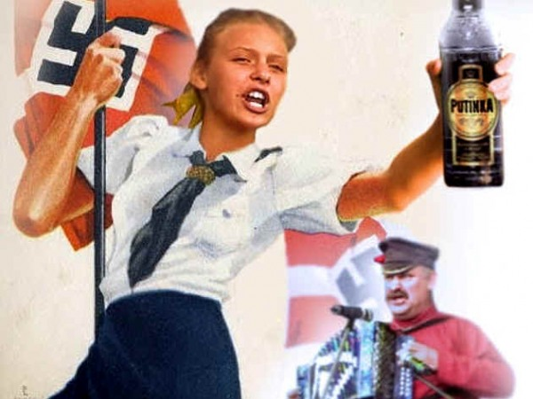 Песня о Путине оказалась гимном Гитлерюгенда