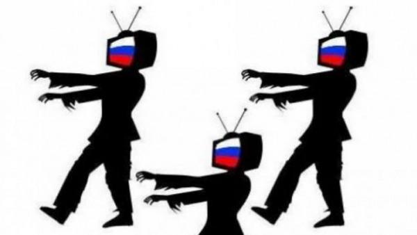 Зомбоящик. Как оккупант через украинское ТВ убеждает в своем героизме