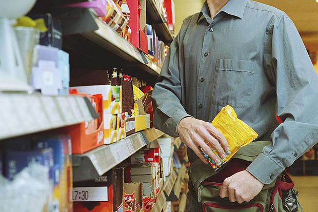 За кражу в супермаркете павлоградец сел в тюрьму на два года