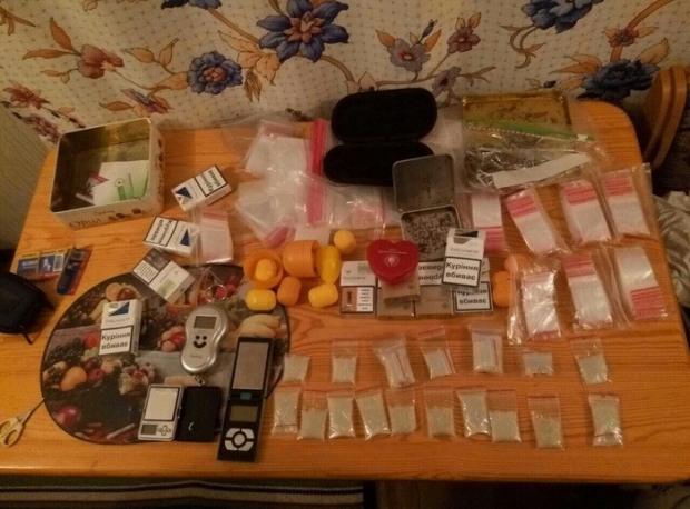 На Днепропетровщине готовились к производству 10 кг метамфетамина