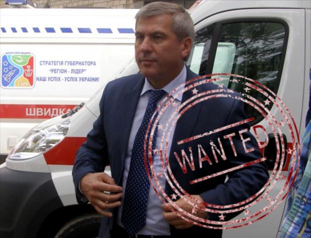 Крупского объявили в розыск