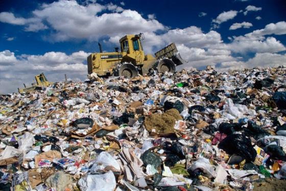В Синельниково протестуют против незаконной выгрузки 600 тонн львовского мусора