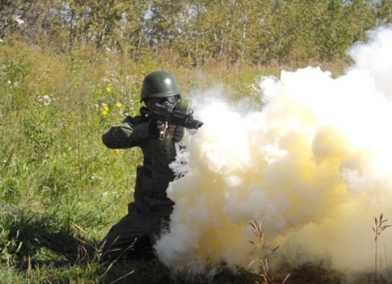 Для боевых действий в зоне АТО Минобороны закупило дымовую смесь для игр и съемок кино